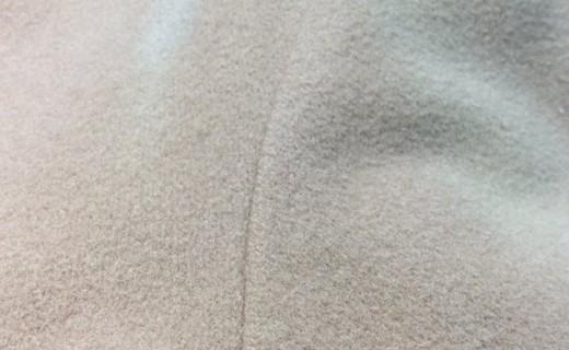 ウールコートの色剥げの復元加工(ビフォー画像)