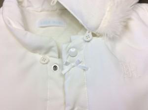 ベビー服に付いたミルクの黄バミ(アフター画像)