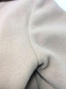 ウールコートの色剥げの復元加工(アフター画像)